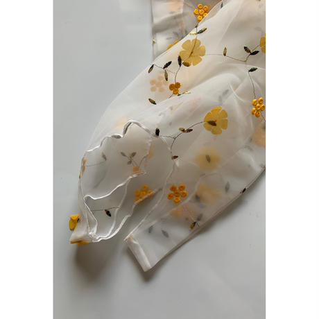 yellow flower sheer bag[0053]
