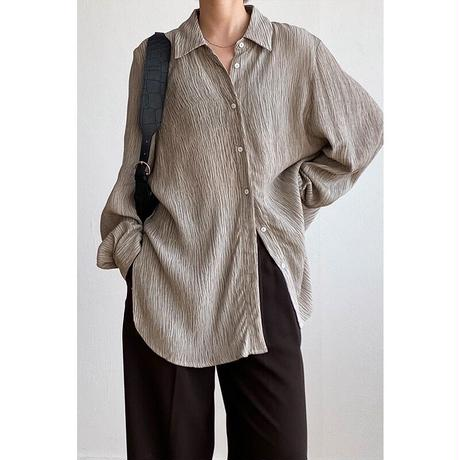 nuance loose shirt/2color