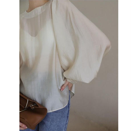 【original】balloon sleeve blouse