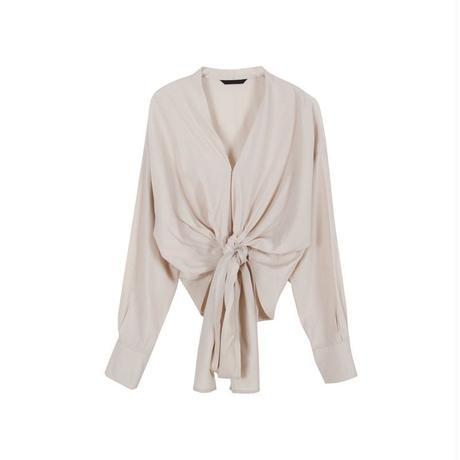waist tie blouse