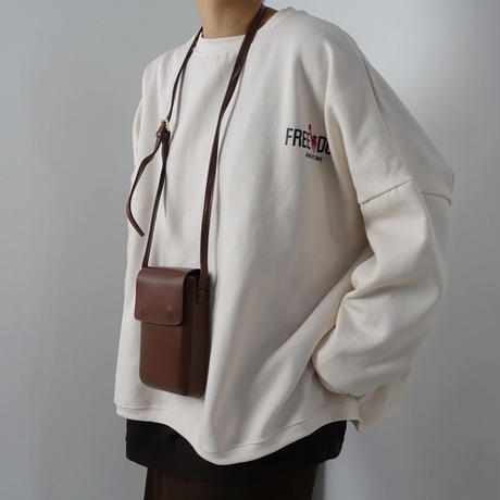 【MADE in KOREA】Mini Shoulder Bag   3col