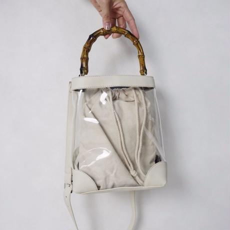 clear bag 2way ショルダー