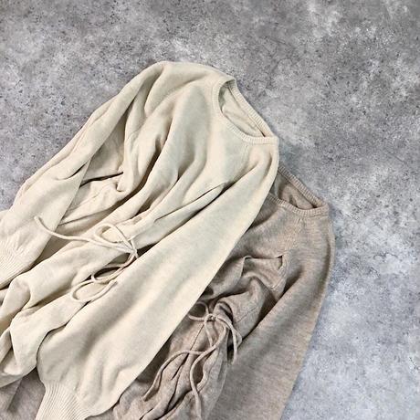 7GG mochi knit slit PO  2col