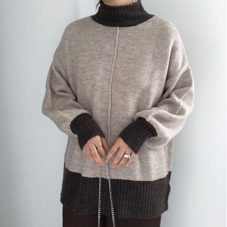 mock twist high neck PO    2col