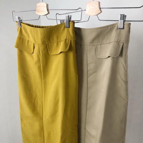 Tight Long Skirt      2col