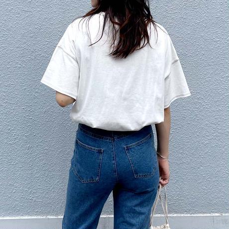 scheme stitch tee【予約】