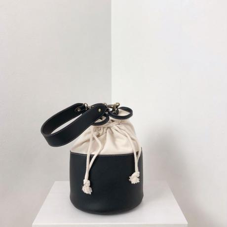 【MADE in KOREA】キャンバスバケツ型巾着BAG
