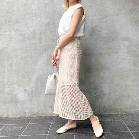 cotton mix knit sk【予約】