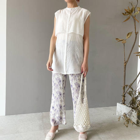 sheer NS  blouse 【予約】