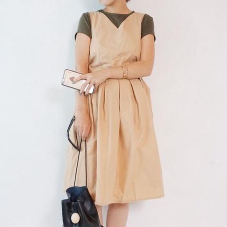 ウシロリボンサロペットスカート 3col