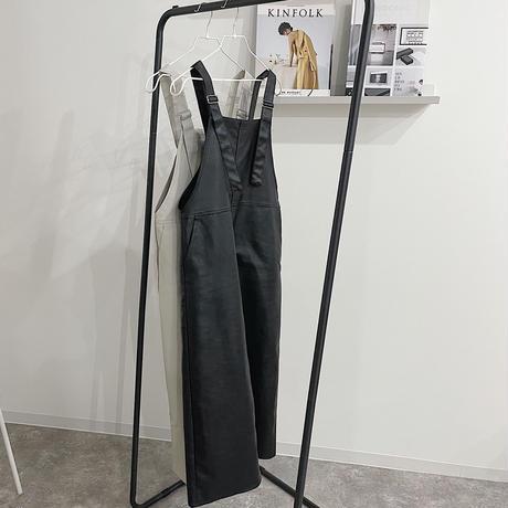 F leather jumper SK  2 col
