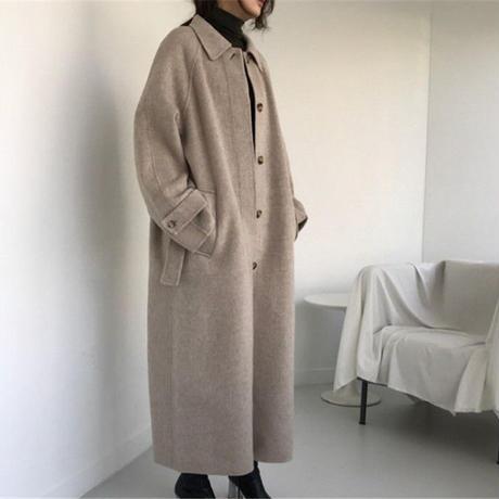 【MADE in KOREA】wool long coat
