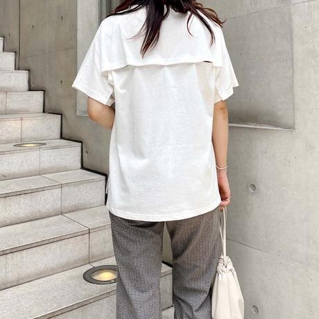 back button T-shirt【予約】