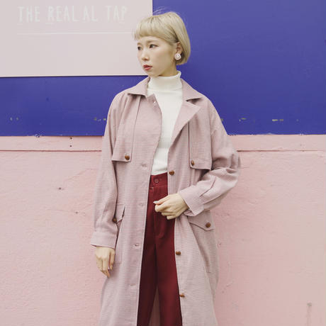 pop coloring trench coat