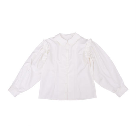 gather frill sleeve blouse
