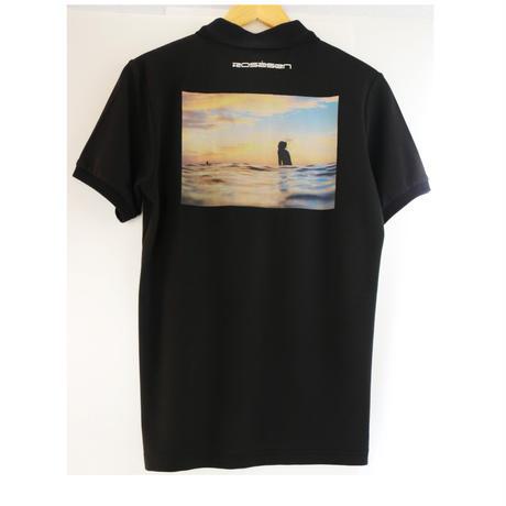 ROSASEN(ロサーセン)U-SKEコラボ  メンズ半袖ポロシャツ