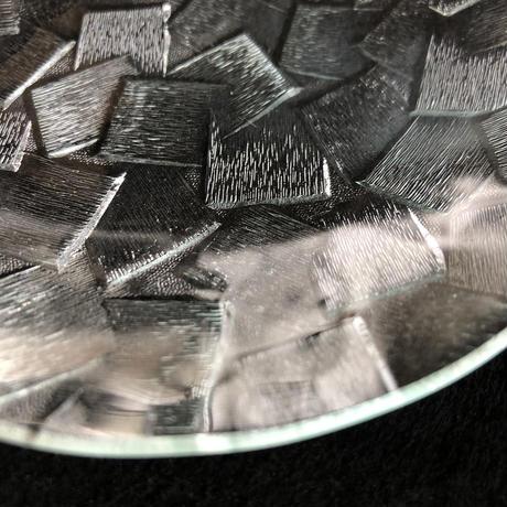 昭和型ガラス「しきし」 皿 円形 小(Φ120mm)