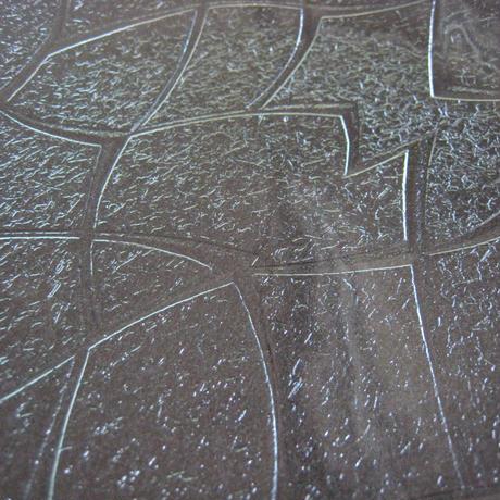 昭和型ガラス「メロン」 皿 八角形 小(Φ120mm)