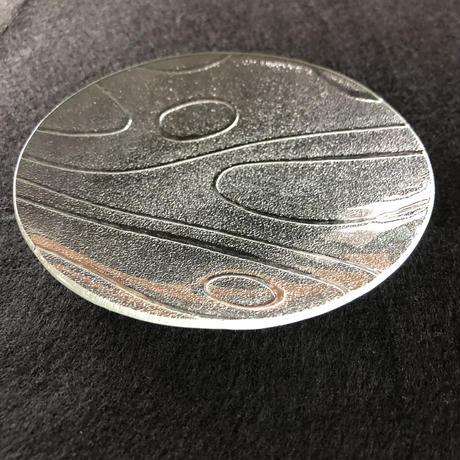 昭和型ガラス「みずわ」 皿 円形 小(Φ120mm)