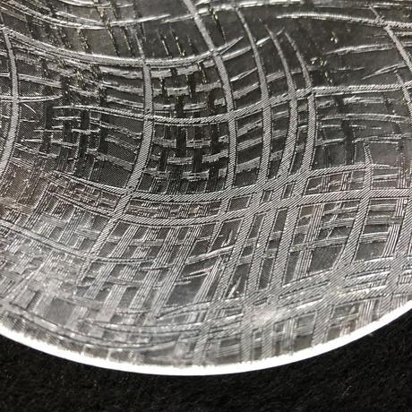 昭和型ガラス「ほなみ」 皿 円形 中(Φ150mm)
