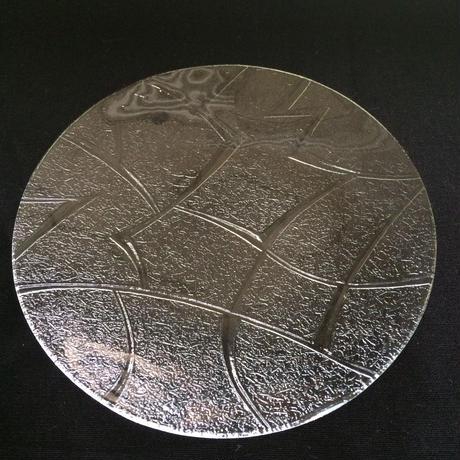 昭和型ガラス「メロン」 皿 円形 小(Φ120mm)