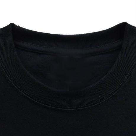 【梵字Tシャツ 半袖】No19 大日如来 バン 黒