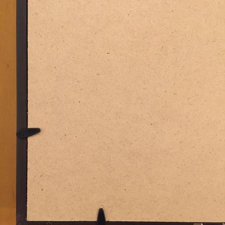 【手描きアート 原画】観音さま 写経 39.6cm × 30.5cm×4.5cm