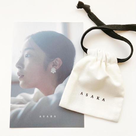 flower s earring/pierce