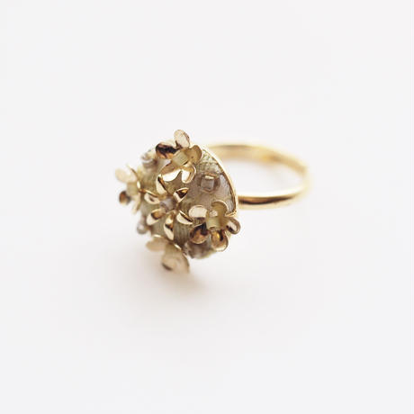 bouquet ring col.green