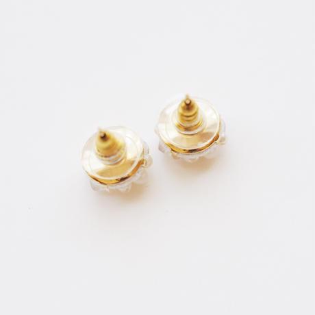 snow pearls s earring/pierce