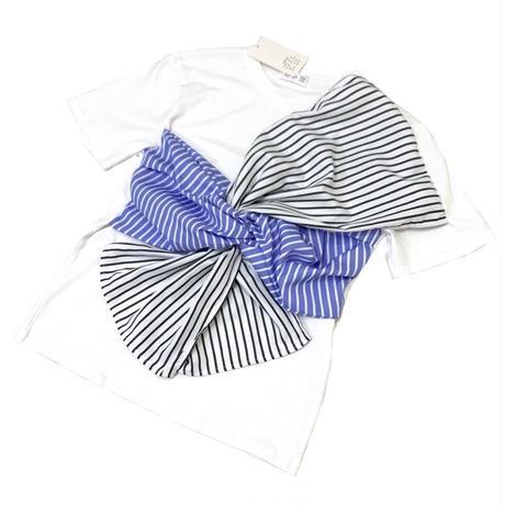 ビスチェ風デザインTシャツ