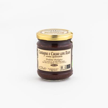 栗のクリームチョコとラム風味 220g