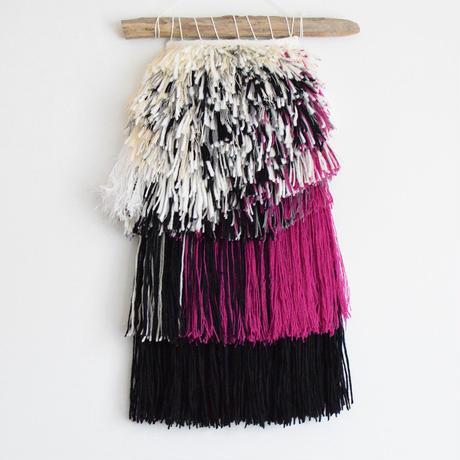 weaving pink!