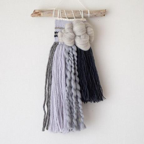 weving カラーブロック -Gray