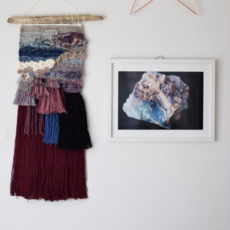 weaving&photo frame L1609-01