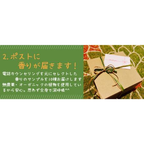 リモートアロマ(おうちで出来る香りのコンサルテーション)電話カウンセリング付き!