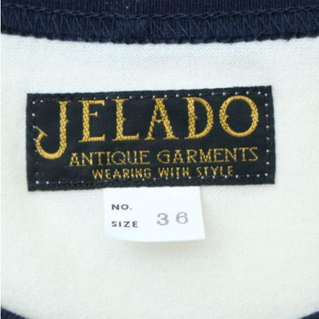 "JELADO ""ANTIQUE GARMENTS"" TOMMY KNOCKERS TEE ネイビー×バニラ [AG22226]"