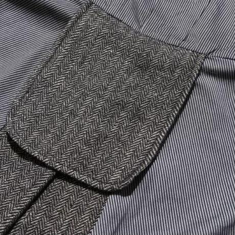 """JELADO """"BASIC COLLECTION"""" Gross Coat ミックスブラック [AG43424]"""