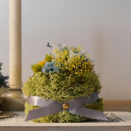 Petite Dried Flowers Cake | birth No.002