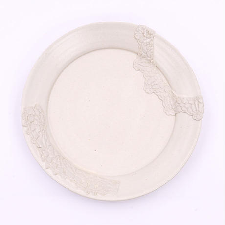 NUIT|プレート|Crochet Blanc plate L