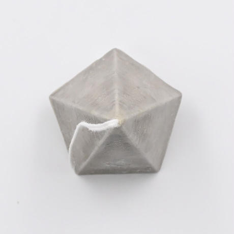 from the cradle キャンドル   Pyramid-2 グレー