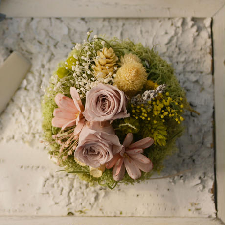 Petite Dried Flowers Cake | Birth No.001