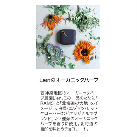 [限定] RAMS|ボンボンショコラ|旭川コレクションおすすめ4個入※