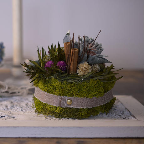 Petite Dried Flowers Cake | Forest No.005