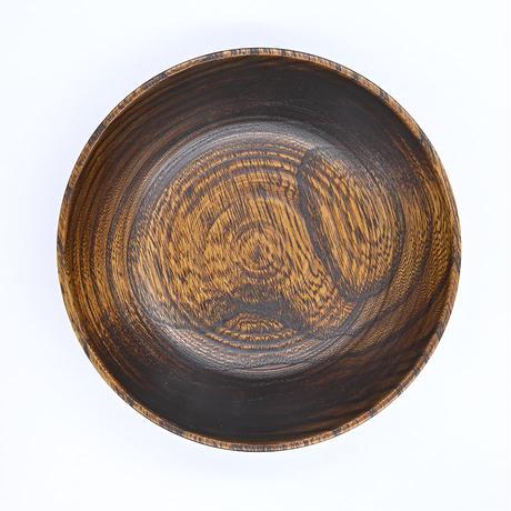 屋中健洋 |皿|ニレの浅鉢 小