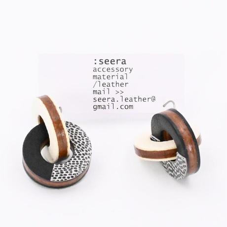 seera|ピアス|frolic |ホワイト