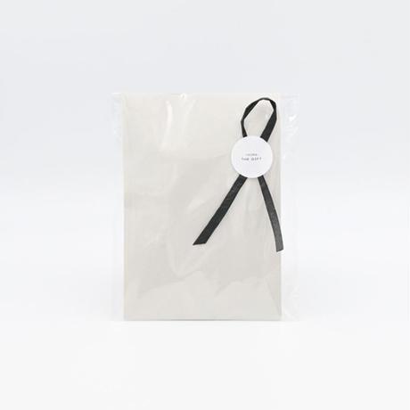 透明袋ラッピング