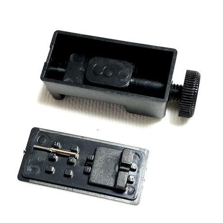 アップルウォッチ ステンレス シルバー チェーンベルト ブレスレットタイプ コマ調整器付き