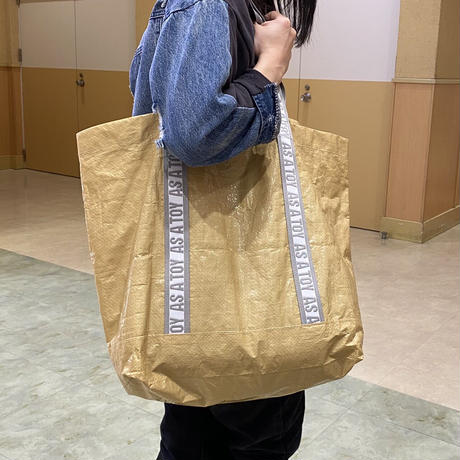 """PE """"NANDEMO"""" TOTE/beige【AS A TOY】"""