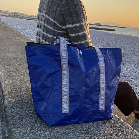 """PE """"NANDEMO"""" TOTE/blue【AS A TOY】"""